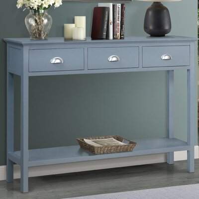 Fleming Console Table Finish: Gray