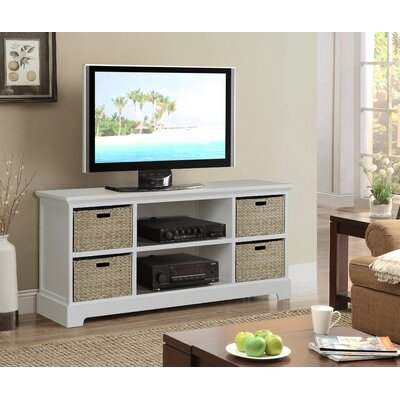 Fleming 45 TV Stand Color: Cream
