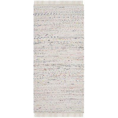 Penrock Way White Area Rug Rug Size: Runner 23 x 6
