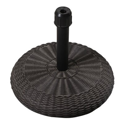 Sawyers Wicker-Look Resin Free Standing Umbrella Base
