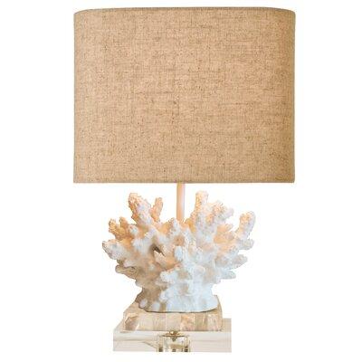 "Coastal Retreat Wayfarer Coral 17"" Table Lamp"