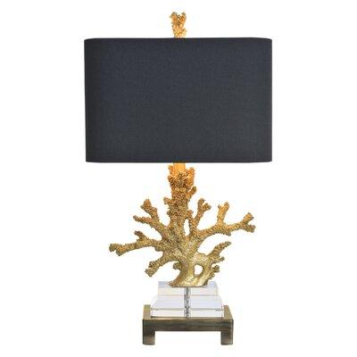 "Couture, Inc. Coastal Retreat Coral 25.5"" Table Lamp"