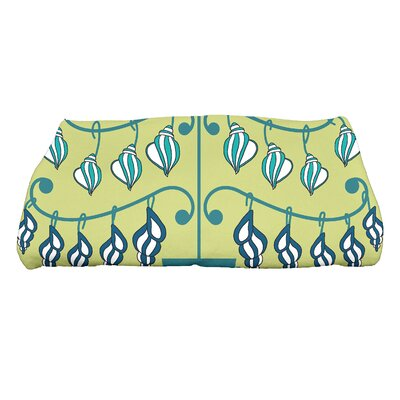 Euphemia Beach Tree Bath Towel Color: Green