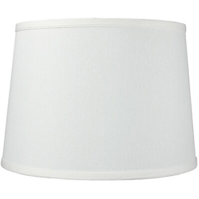 14 Linen Drum Lamp Shade Color: Light Oatmeal