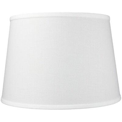 16 Linen Empire Lamp Shade Color: White