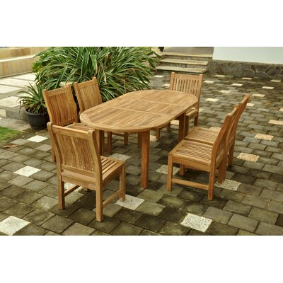Farnam 7 Piece Oval Dining Set
