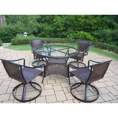Kingsmill Coastal 5 Piece Dining Set