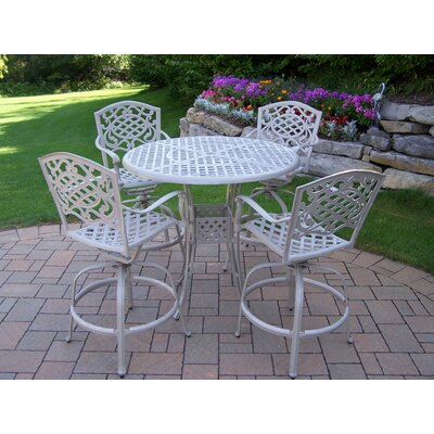 Thelma 5 Piece Traditional Bar Set Finish: Beach Sand
