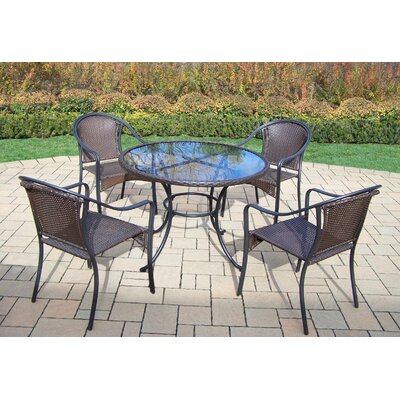 Kingsmill Traditional 5 Piece Dining Set
