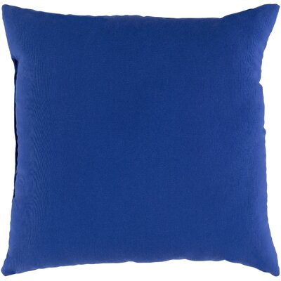 Murrayville Outdoor Throw Pillow Size: 20 H x 20 W x 0.25 D, Color: Cobalt