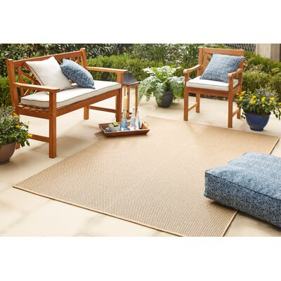 Sullivan Brown Indoor/Outdoor Area Rug Rug Size: 53 x 76