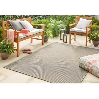 Sullivan Onyx Indoor/Outdoor Area Rug Rug Size: Rectangle 106 x 14