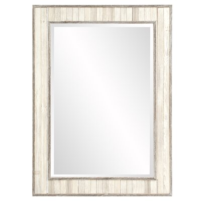Wood Rectangle Wall Mirror