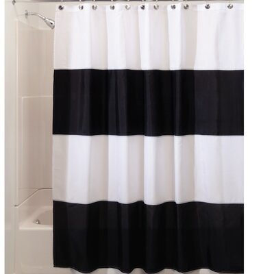 Zeno Shower Curtain Color: Black