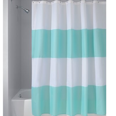 Zeno Shower Curtain Color: Blue