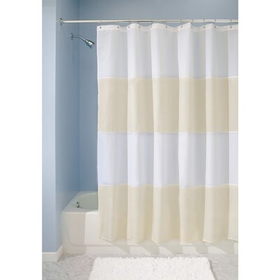 Zeno Shower Curtain Color: Sand