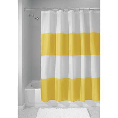 Zeno Shower Curtain Color: Yellow