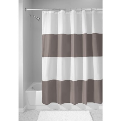 Zeno Shower Curtain Color: Taupe