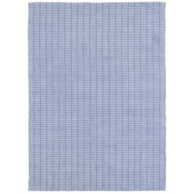Rudel Hand Woven Cotton Grey Area Rug Rug Size: Rectangle 5 x 7