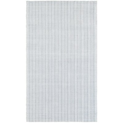 Rudel Hand-Loomed Gray Area Rug Rug Size: Rectangle 5 x 7