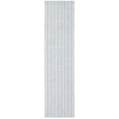 Rudel Hand-Loomed Gray Area Rug Rug Size: Runner 2 x 8