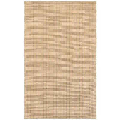Golden Beach Taupe Indoor Area Rug Rug Size: 5 x 7