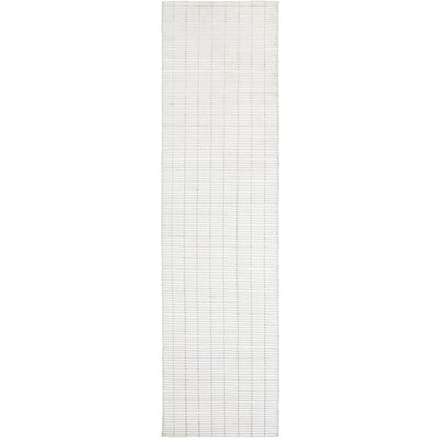 Rudel White Indoor Area Rug Rug Size: Runner 2 x 8