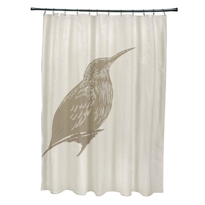 Falkirk Print Shower Curtain Color: Flax