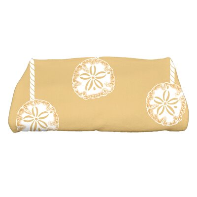 Ashwin Sanddollar Ornaments Bath Towel Color: Gold