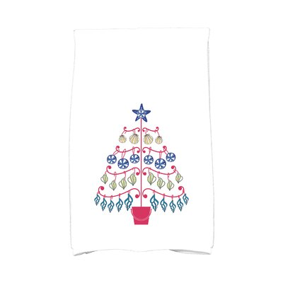 Lavinia Beach Tree Hand Towel Color: Pink