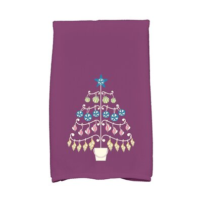 Lavinia Beach Tree Hand Towel Color: Purple