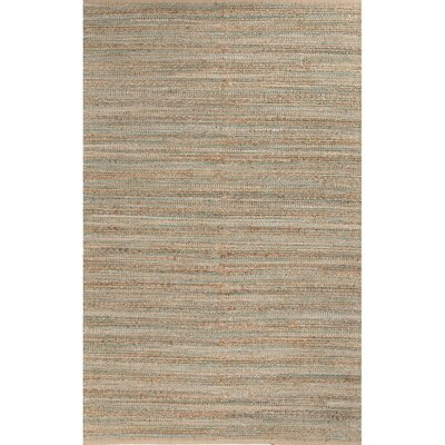 Ina Hand-Woven Taupe/Beige Area Rug Rug Size: Rectangle 36 x 56