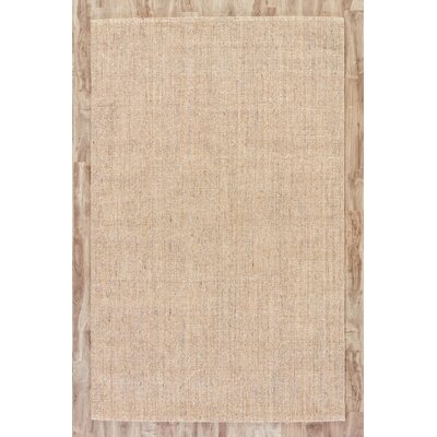 Bay State Gray/Brown Solid Area Rug Rug Size: 5 x 8