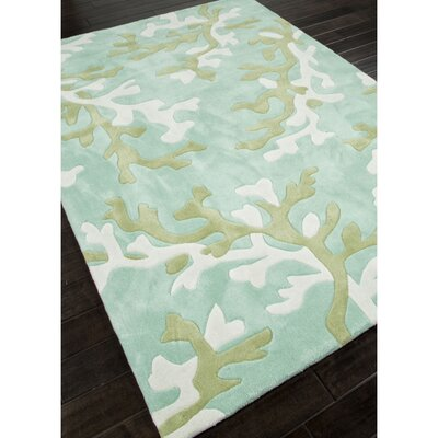 Daoust Blue/Ivory Rug Rug Size: 9 x 12