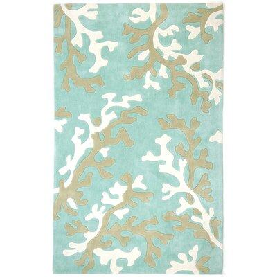 Parkmont Blue/Ivory Rug Rug Size: 9 x 12