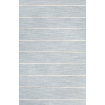 Hardwick Blue/Ivory Area Rug Rug Size: Rectangle 8' x 10'