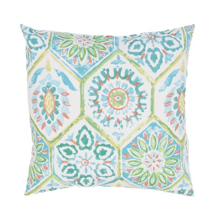 Melanarka Tribal Pattern Indoor/Outdoor Throw Pillow