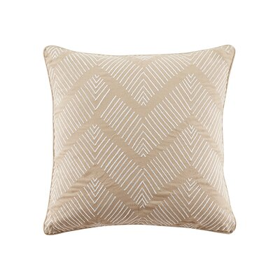 Faulkner Polyester Solid Cotton Throw Pillow