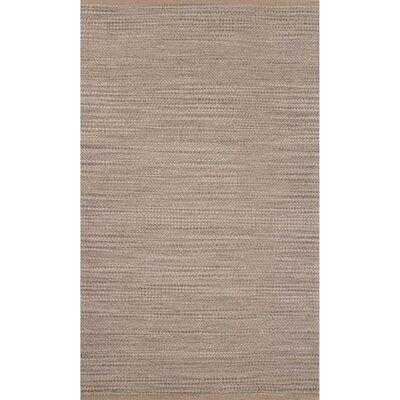 Ina Jute and Rayon Naturals Candied Ginger Area Rug Rug Size: 8 x 10