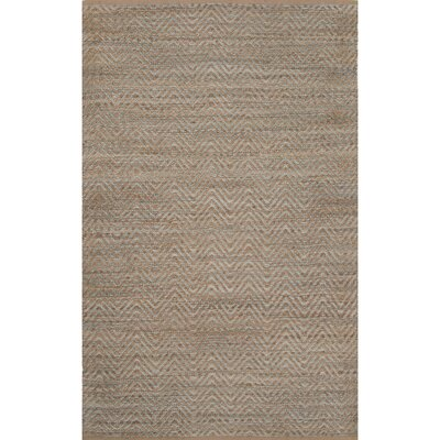 Daragon Jute and Rayon Brown Naturals Area Rug Rug Size: 8 x 10