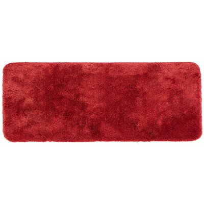 Ashmoore Bath Mat Size: 24 L x 17 W, Color: Wine