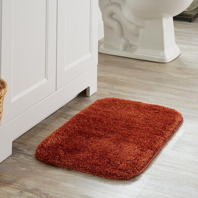 Chatham Bath Mat Size: 60 L x 24 W, Color: Spice
