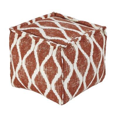 Blythe Pouf Upholstery: Orange