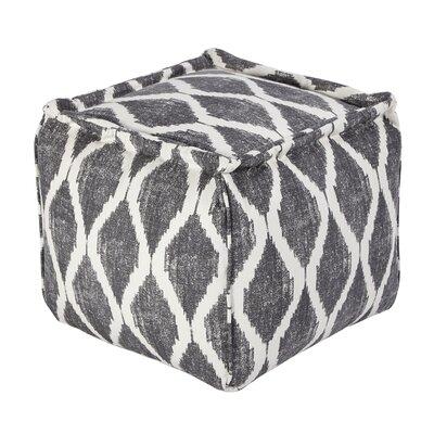 Blythe Pouf Upholstery: Gray