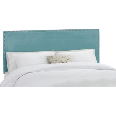 Coral Gables Upholstered Panel Headboard Size: Twin, Upholstery: Carribean