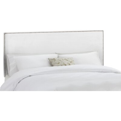 Coral Gables Upholstered Panel Headboard Upholstery: White, Size: California King