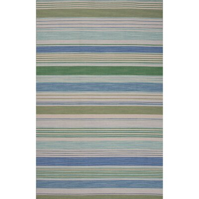 Linnea Gray/Green Area Rug Rug Size: 8' x 10'