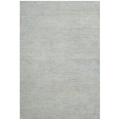 Farnhurst Hand-Knotted Gray Area Rug Rug Size: 8 x 10