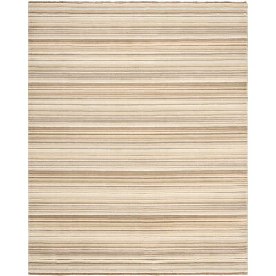 Brookvale Hand-Knotted Natural Area Rug Rug Size: 8 x 10
