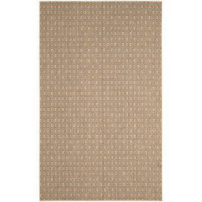Allegra Hand-Woven Jute Area Rug Rug Size: Rectangle 3 x 5